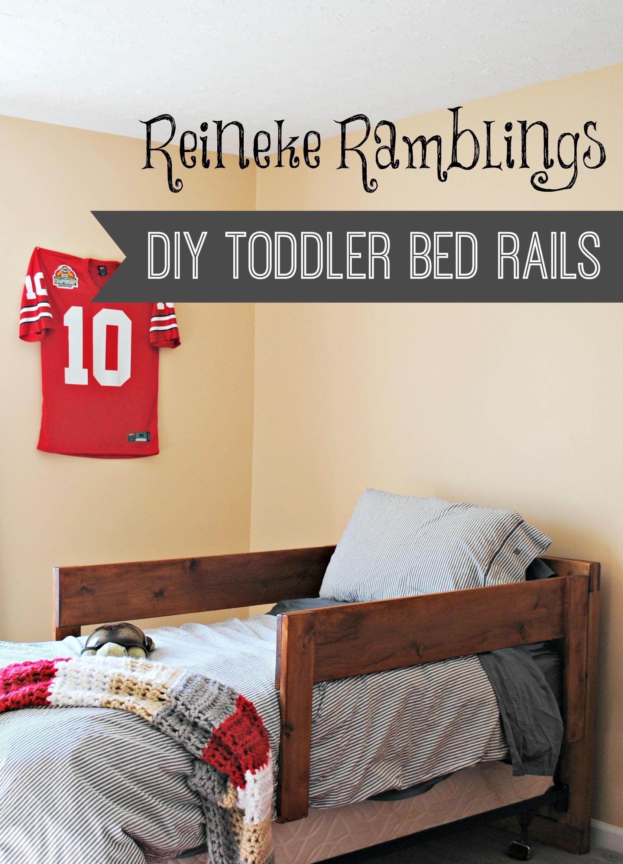 Diy Toddler Bed Rails Cypress Wool