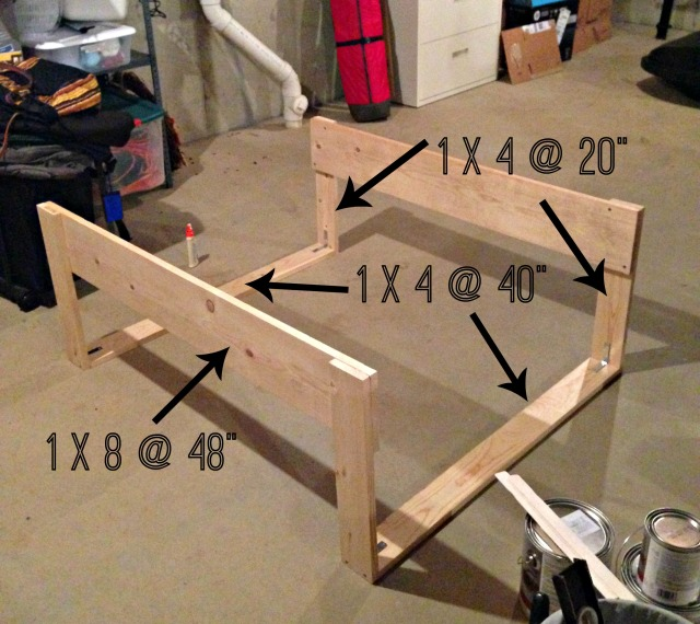DIY Toddler Bed Rails - Place in Progress