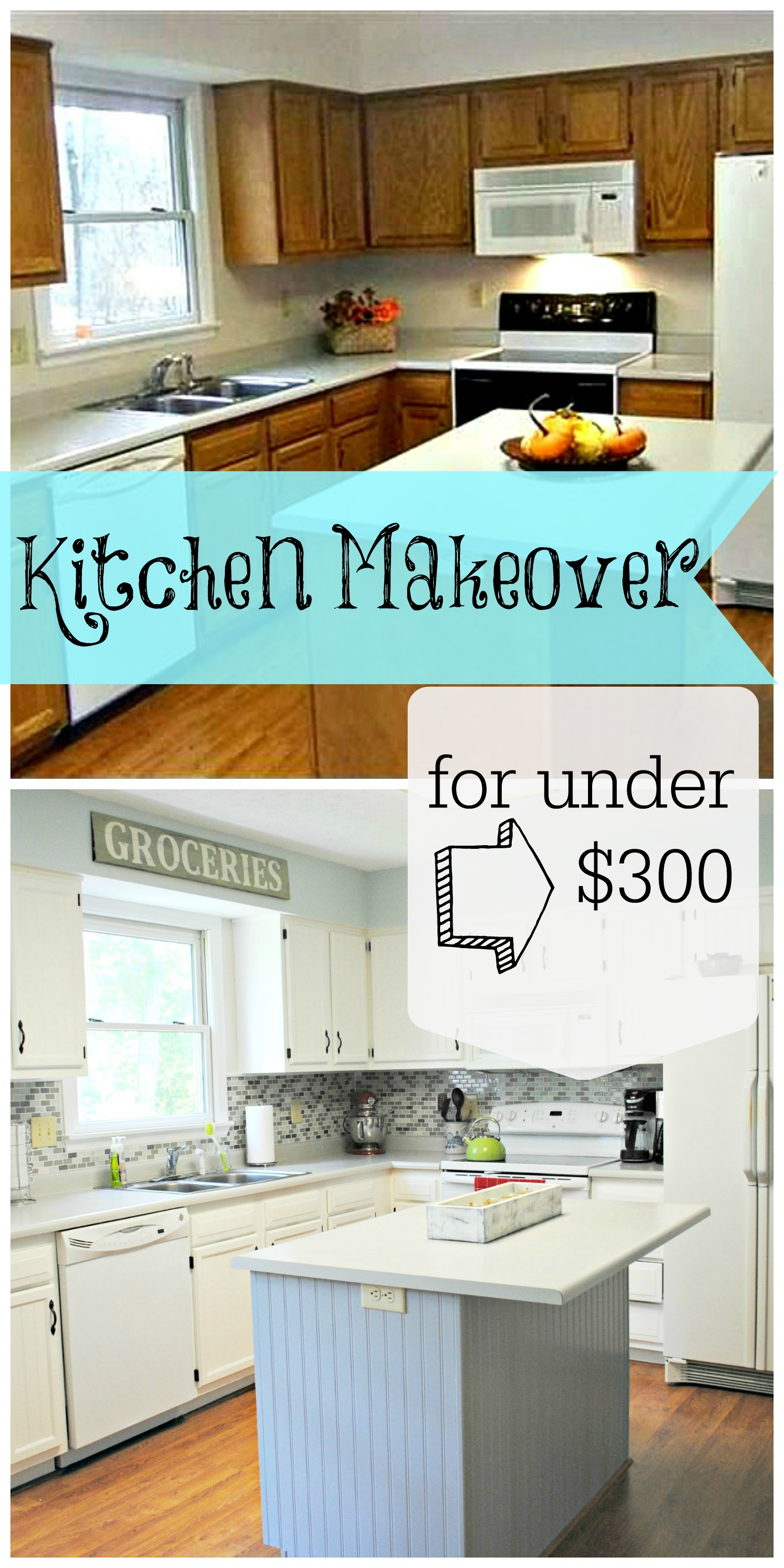 Kitchen Makeover for Under $300 (Seriously) - Place in Progress